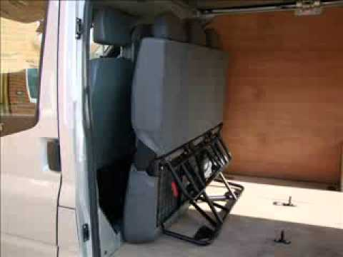Folding Seat Fitted In Van