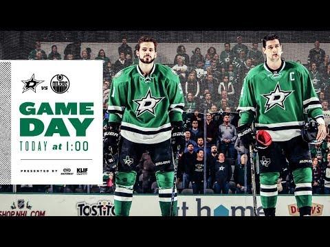 NHL 18 PS4. REGULAR SEASON 2017-2018: Edmonton OILERS VS Dallas STARS. 11.18.2017. (NBCSN) !