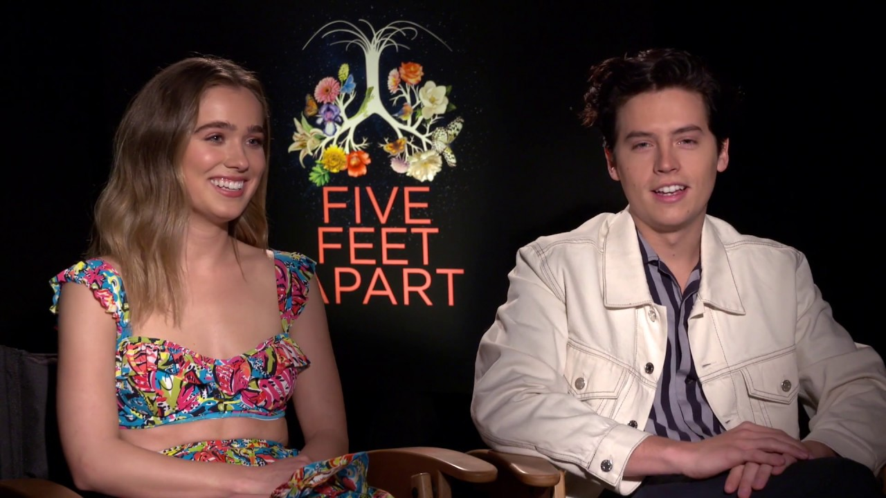 Download COLE SPROUSE, HALEY LU RICHARDSON, JUSTIN BALDONI Interview: Five Feet Apart