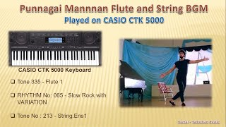 Punnagai Mannan Theme piano