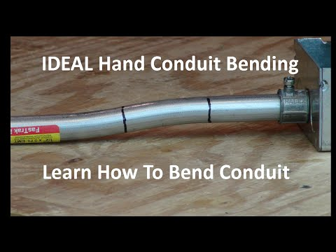 IDEAL How To Use a Hand Conduit Bender
