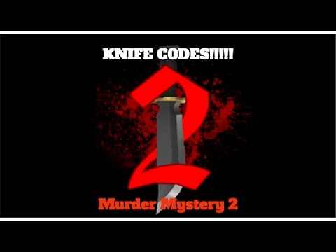 MM2 Free Knife Codes!!! Roblox