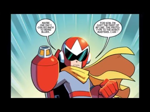 An Excerpt from ''Red Shift'' (Mega Man #54)