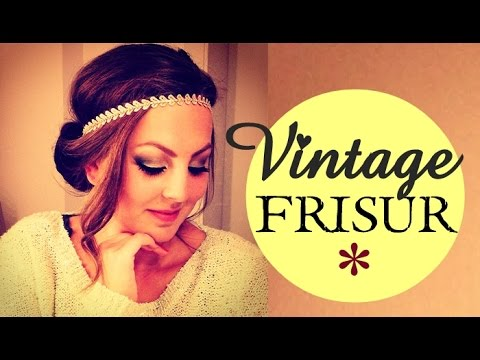 vintage frisur mit haarband schnell einfach youtube. Black Bedroom Furniture Sets. Home Design Ideas