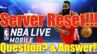 (Must Watch) Reset Question & Answer!! NBA  Live Mobile