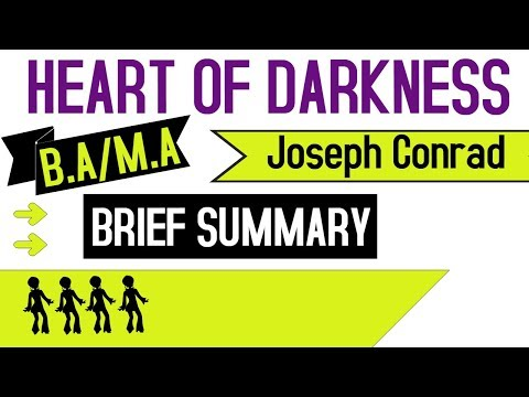 Heart Of Darkness by Joseph Conrad - English Honours - Introduction - 3rd Year - Hindi Explanation