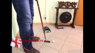 Офисный мини-гольф (с выталкивателем шаров)