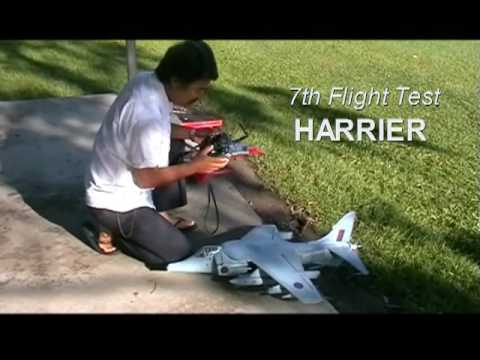 Harrier Flight Test Youtube