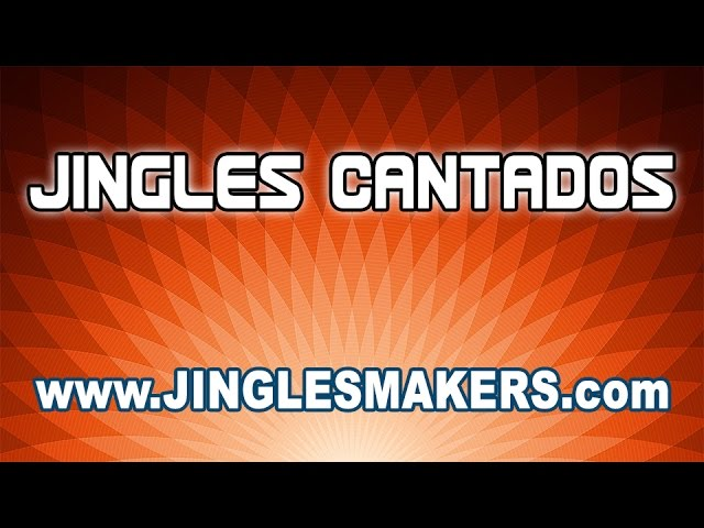 JINGLES CANTADOS - Asombrosos