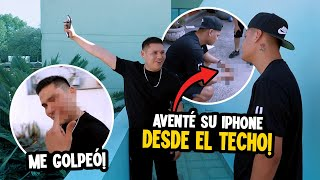 Aventé el celular de Francisco alv por el balcón📱😱BROMA PESADA/Elsupertrucha