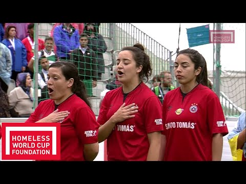 Oslo 2017 - Women's Homeless World Cup Final - Mexico v Chile