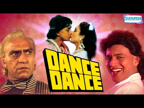 Dance Dance (1987) - Hindi Full Movie - Mithun Chakraborty - Smita Patil - Mandakini -80's Hit Movie