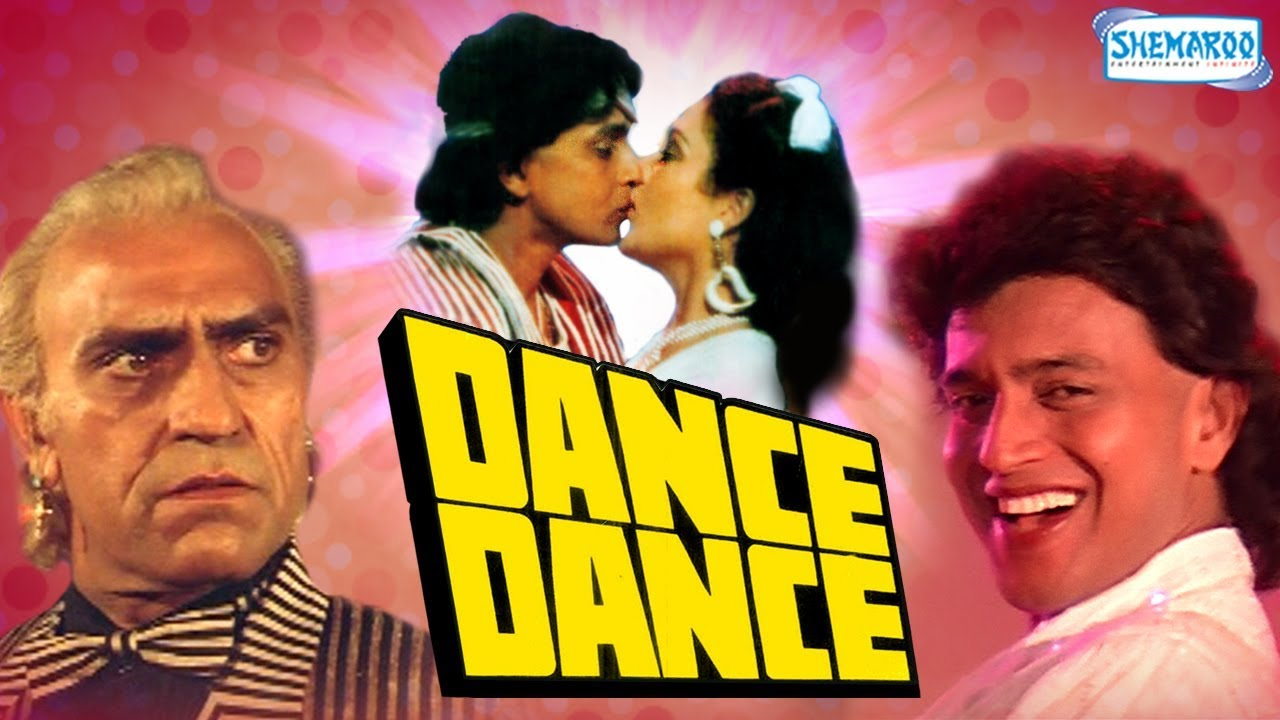 Dance Dance (1987) - Hindi Full Movie - Mithun Chakraborty - Smita Patil - Mandakini -80's Hit