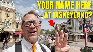 Disneyland's Windows How T๐ Get Your Name On One | SECRETS REVEALED