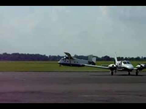 Emergency Landing at Oxford (Kidlington) Airport