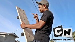 Real life Plank skateboard! (Ed Edd n Eddy)