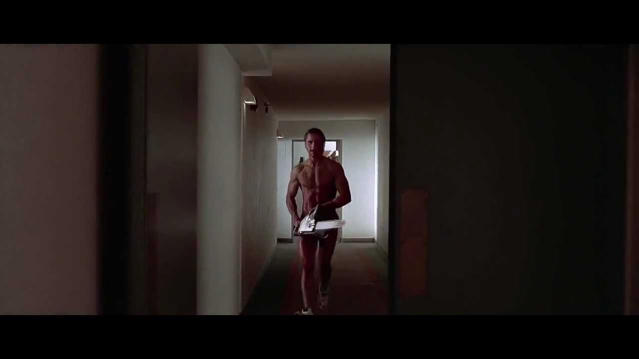 American Psycho - Chainsaw scene - YouTube