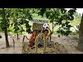 Simple But Gorgeous Diy Craft By Village Boys - Primitive Toy House Build Using False White Teak