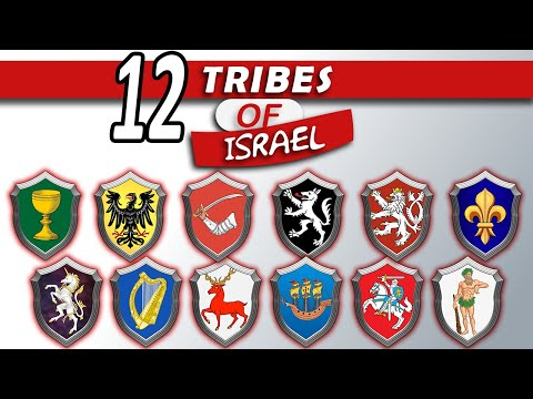 Heraldry \u0026 Symbols Of The 12 Tribes Of Lsrael In Europe
