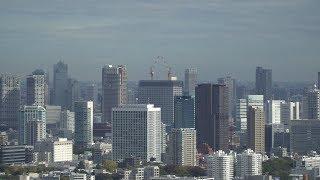 日本生命浜松町クレアタワーの建設状況(2017年11月11日) thumbnail