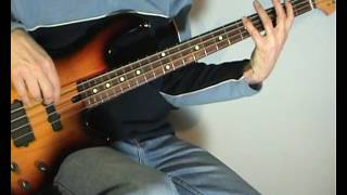 Billy Ray Cyrus - Achy Breaky Heart - Bass Cover