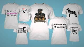 Rottweiler Severlere Özel T-shirt