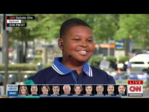 11 Year Old Reporter, Jaden Jefferson, Covers Presidential Campaign - CNN from YouTube · Duration:  5 minutes 26 seconds