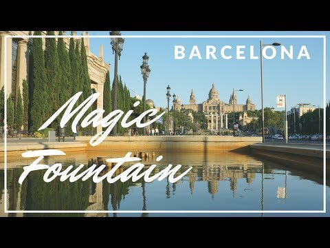 Barceloneta Beach & Montjuïc Magic Fountain - Barcelona | Family Travel Vlog