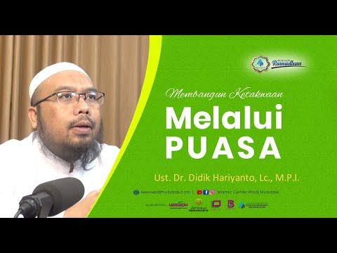 Perkara Yang Perlu Dijauhi Oleh Orang Yang Berpuasa | Ust. Dr. Didik Hariyanto. Lc., M.P.I.