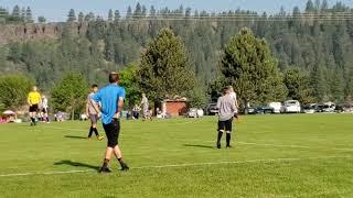 Weekend soccer league : Trentwood Elementary vs Venom middle school