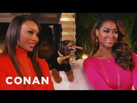 Triumph Visits The Real Housewives Of Atlanta  CONAN on TBS