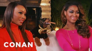 Triumph Visits The Real Housewives Of Atlanta - CONAN on TBS