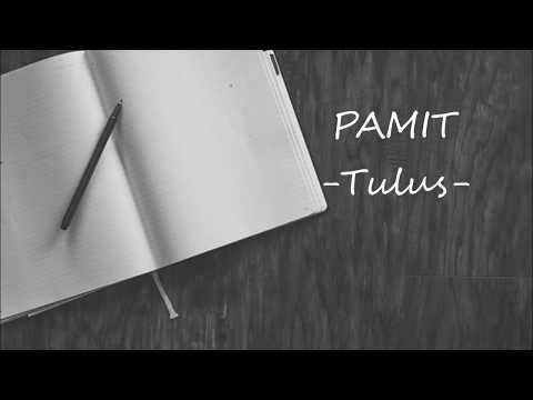 Tulus - Pamit (Lirik)