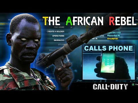 African Rebel CALLS KIDS PHONE on COD!