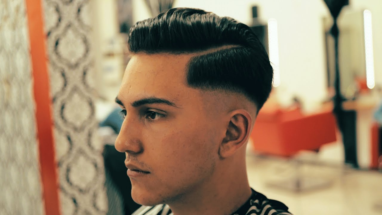 skin fade side part haircut style│turanlar's barbershop (shot on
