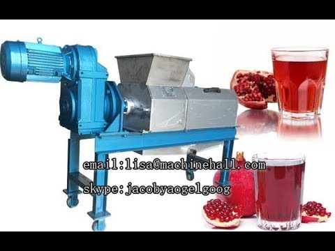 Pomegranate Juice Machine|Grape|Apple Juice Making Machine