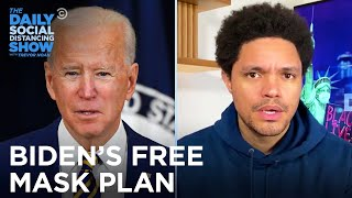 Biden Mask Plan, Olympic Head's Sexism & Lil Uzi Vert's New Rock | The Daily Social Distancing Show