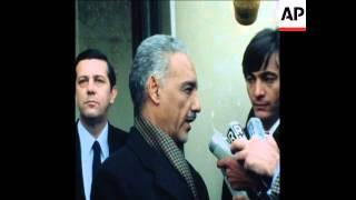 SYND 9 2 78 PRESIDENT OF MAURITANIA MOKTAR OULD DADDAH MEETS GISCARD D'ESTAING IN PARIS