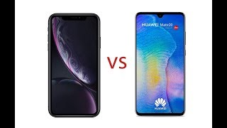 Apple iPhone XR VS Huawei Mate 20 - Size Comparison