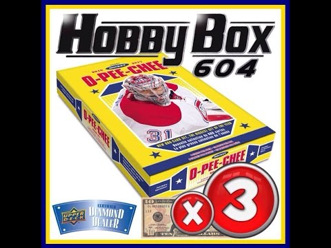 Hobbybox604 Group Break #1044 *Hockey* 16/17 Upper Deck O Pee Chee 3 Box Break
