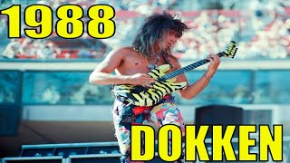 DOKKEN | George Lynch | Monsters Of Rock Tour | Rich Stadium, NY | June 19, 1988 | Full Show