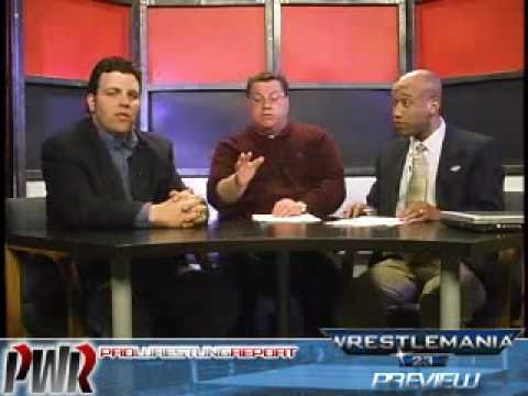 WWE Wrestlemania 23 Preview - Pro Wrestling Report 4.27.07