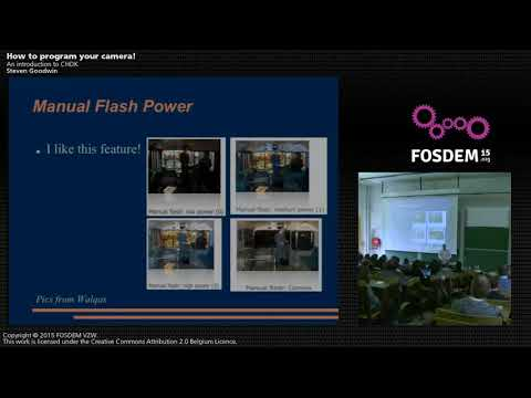 FOSDEM 2015 - Developer Room - Embedded - Hack Your Camer.mp4