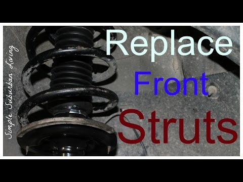 How to Install Front Struts - Chevy Traverse, GMC Acadia, Buick Enclave, Saturn Outlook