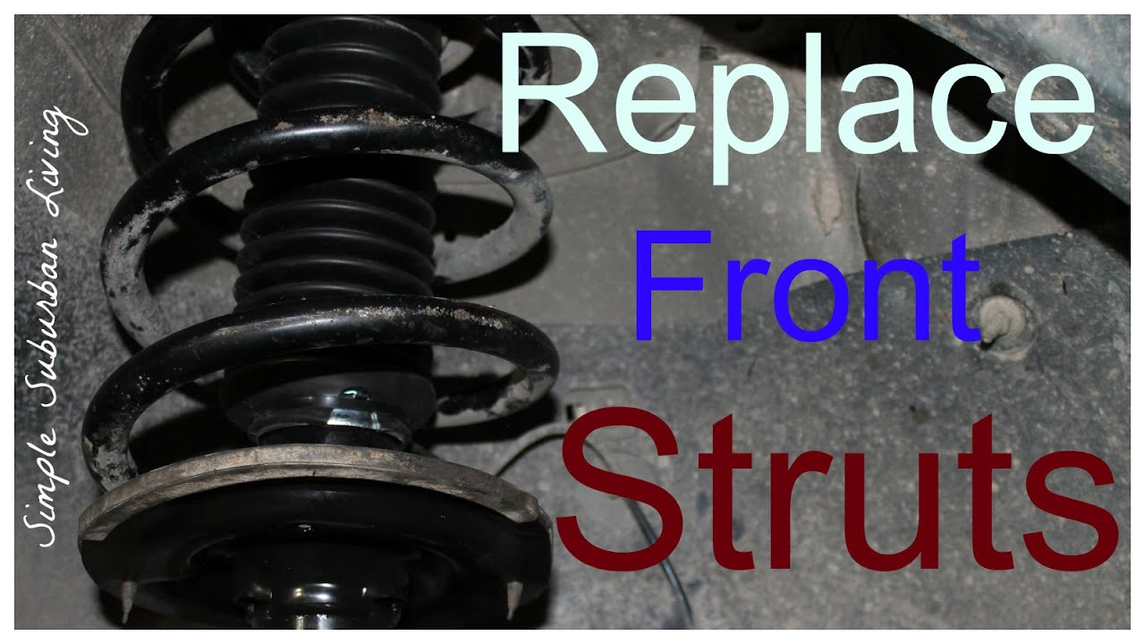 how to install front struts chevy traverse gmc acadia buick how to install front struts chevy traverse gmc acadia buick enclave saturn outlook