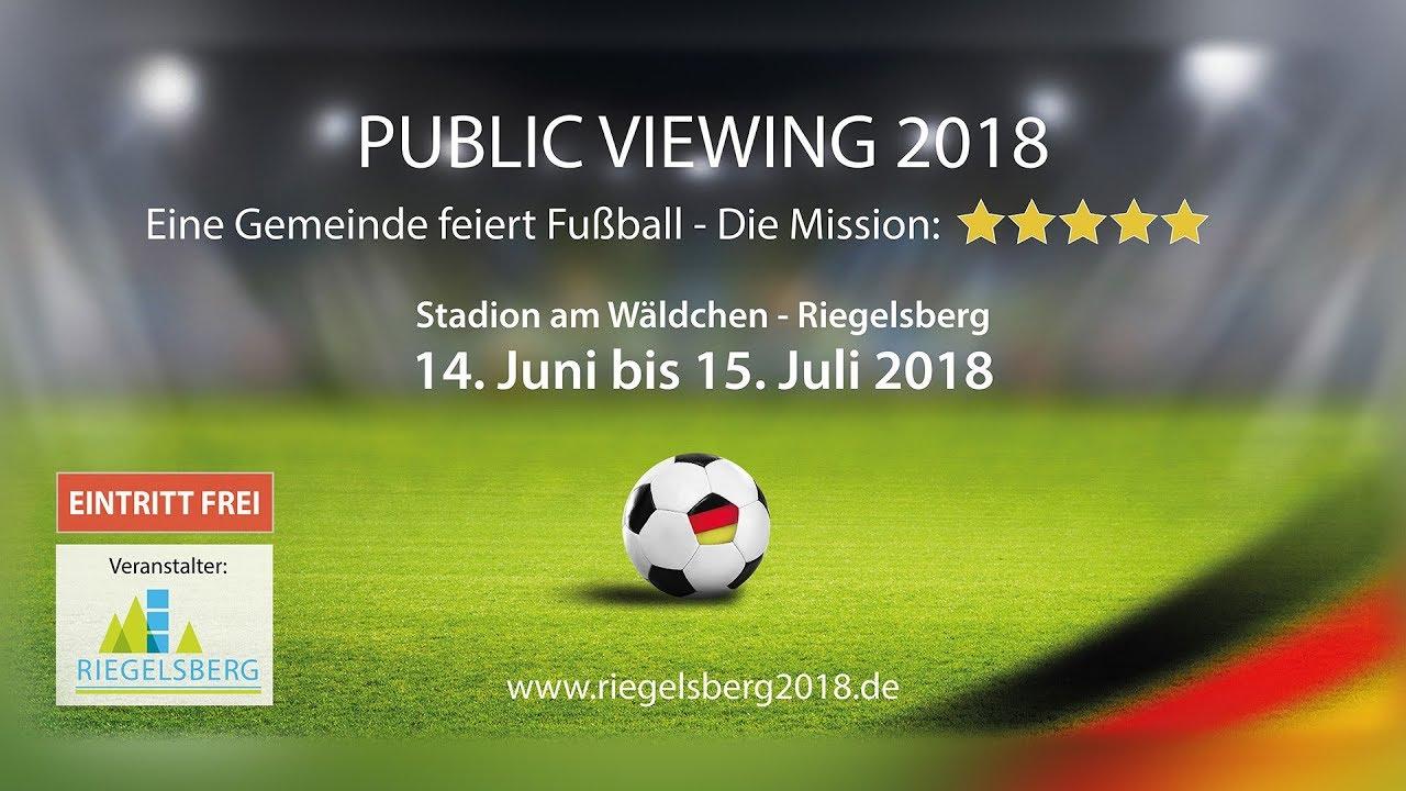 Riegelsberg Family Public Viewing Fussball Wm 2018 Uhd