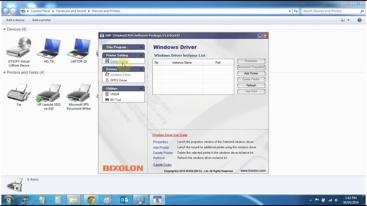 Bixolon srp-350ii receipt printer   posguys. Com.