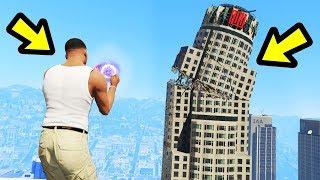GTA 5 - Destroying Los Santos with SUPERPOWERS!!