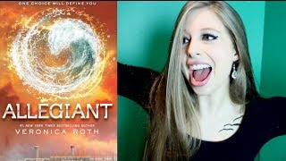 ALLEGIANT BY VERONICA ROTH | booktalk with XTINEMAY