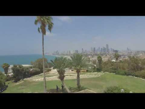 Panoramic Old Jaffa / Vieja Jaffa - Tel Aviv from the sky